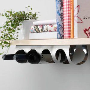 VURM Stainless Steel Vertical/Horizontal Wine Rack